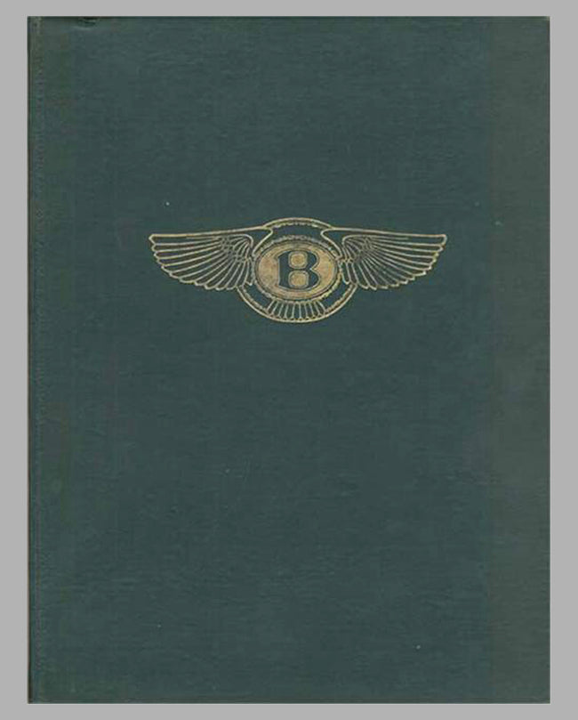 A Racing History of the Bentley 1921-1931 book by Darell Berthon, 1st ed., 1956