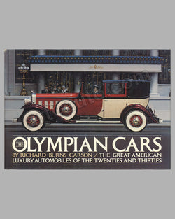 The Olympian Cars book by R. B. Carson, 1st ed., 1976