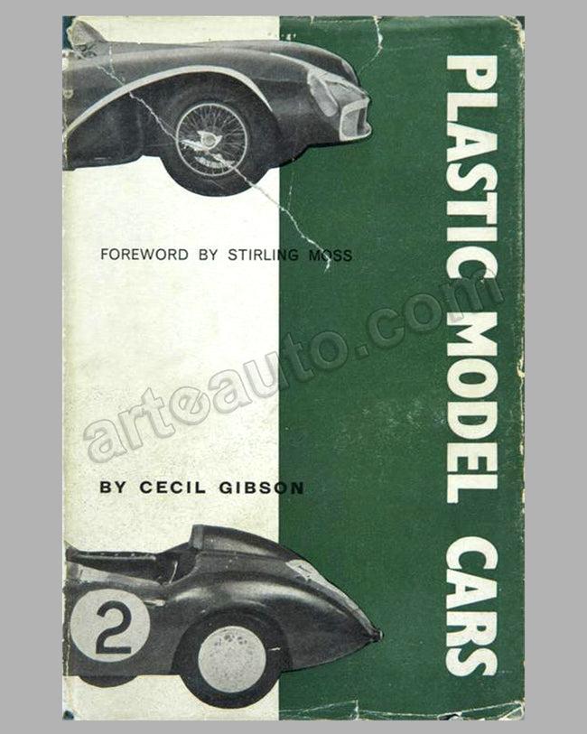 Plastic Model Cars book by C. Gibson, 1st ed.