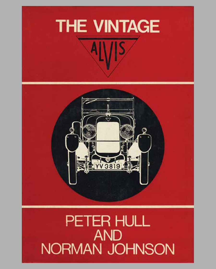 The Vintage Alvis book by Peter Hull & Norman Johnson, 1st ed., 1967