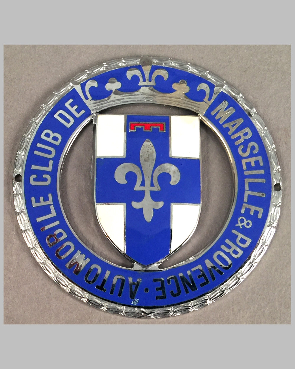 Automobile club de Marseille & Provence badge