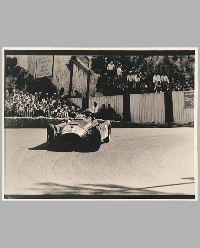 Alberto Ascari at Monaco in 1955