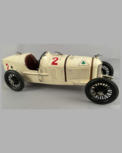 Alfa Romeo P2 wind up tin plate toy 6