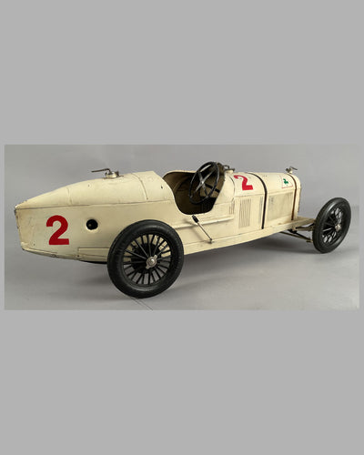 Alfa Romeo P2 wind up tin plate toy 7