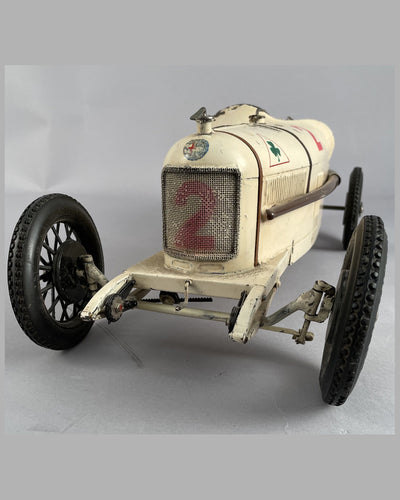 Alfa Romeo P2 wind up tin plate toy 8