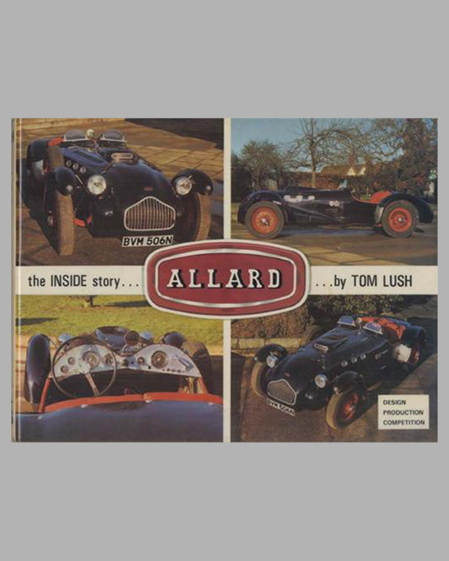 Allard - The Inside Story book by Tom Lush, 1st ed.,