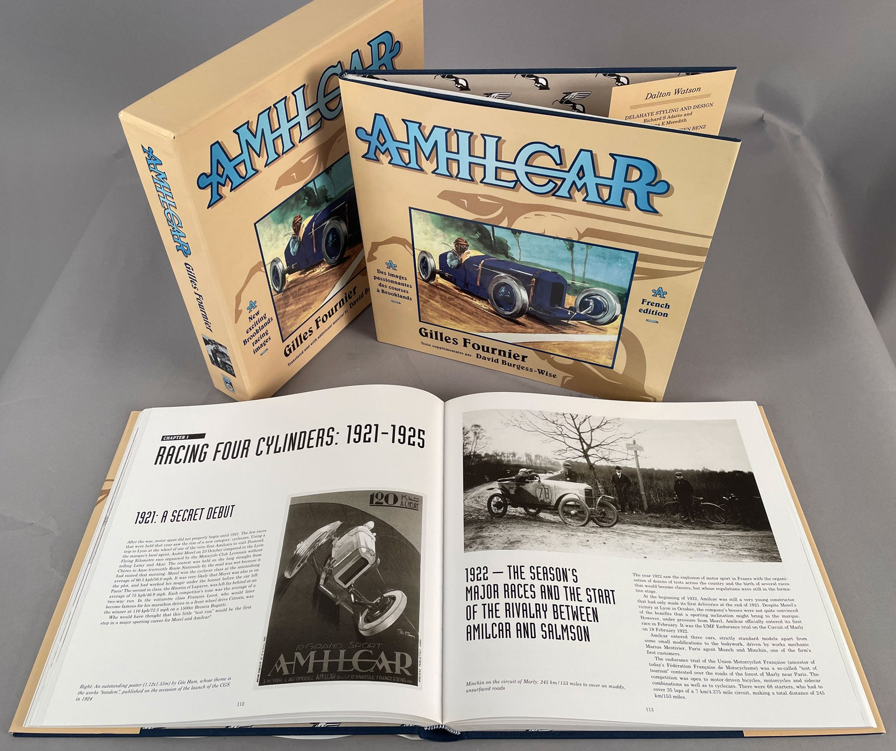 Amilcar by Gilles Fournier book