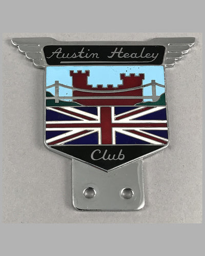 Austin Healey Club bar or bumper badge