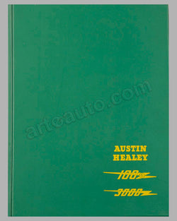 Austin-Healey 100/6 and 3000 Workshop Manual published by the factory