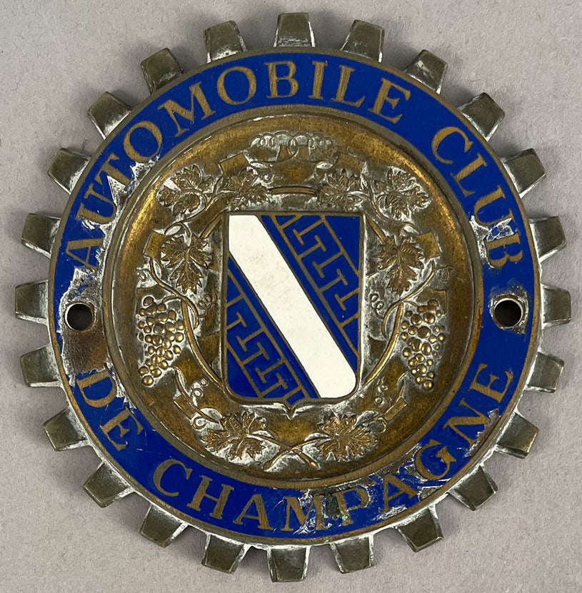 Automobile Club de Champagne grill badge