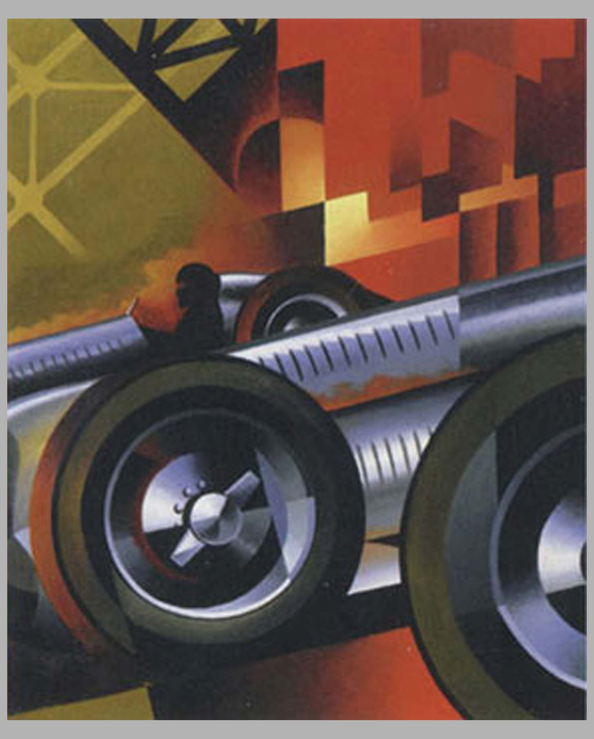 Auto Union giclée by Alain Lévesque