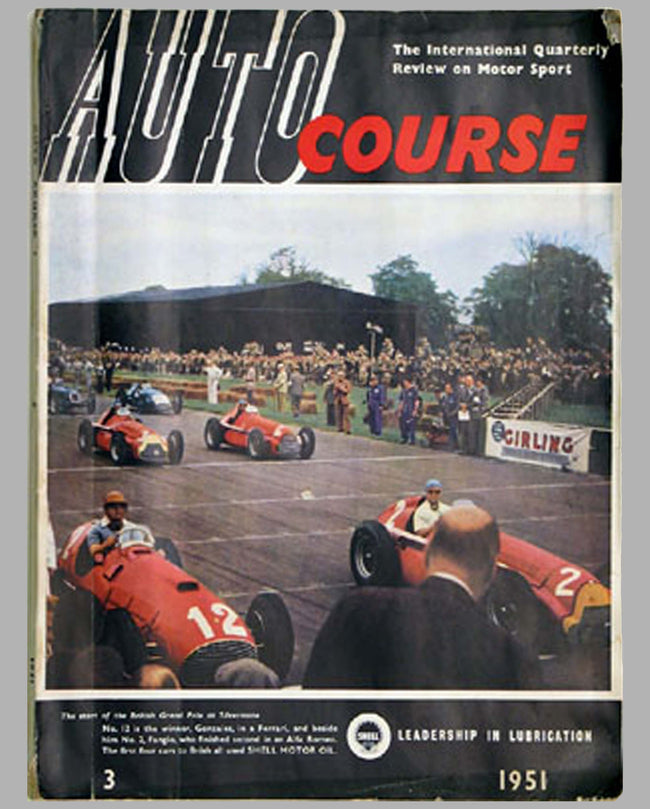 Autocourse magazine #3, 1951, 3rd issue