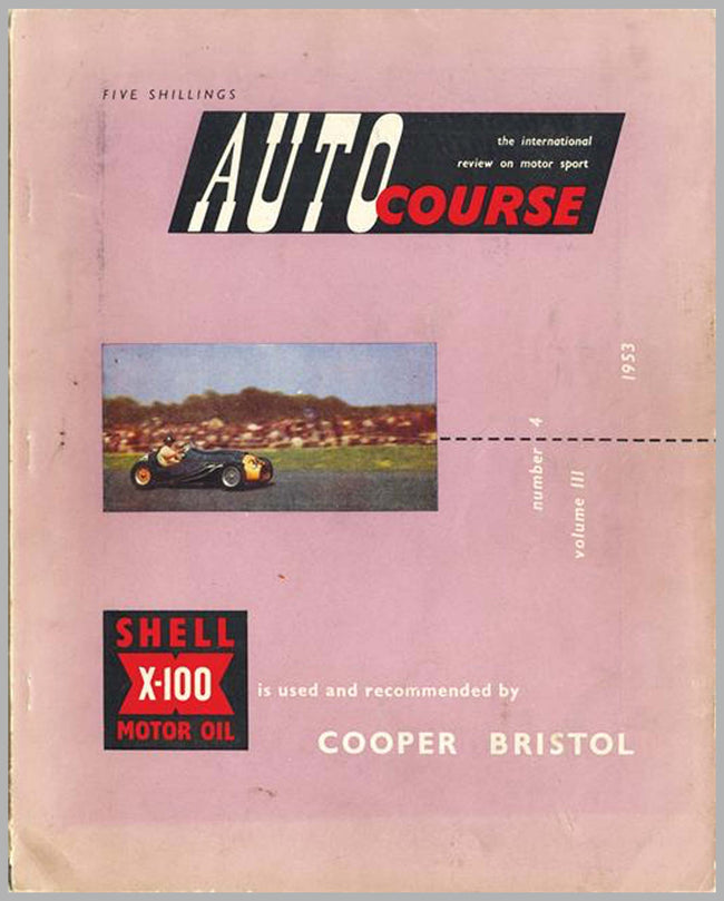Autocourse magazine, volume 3, #4, 1953