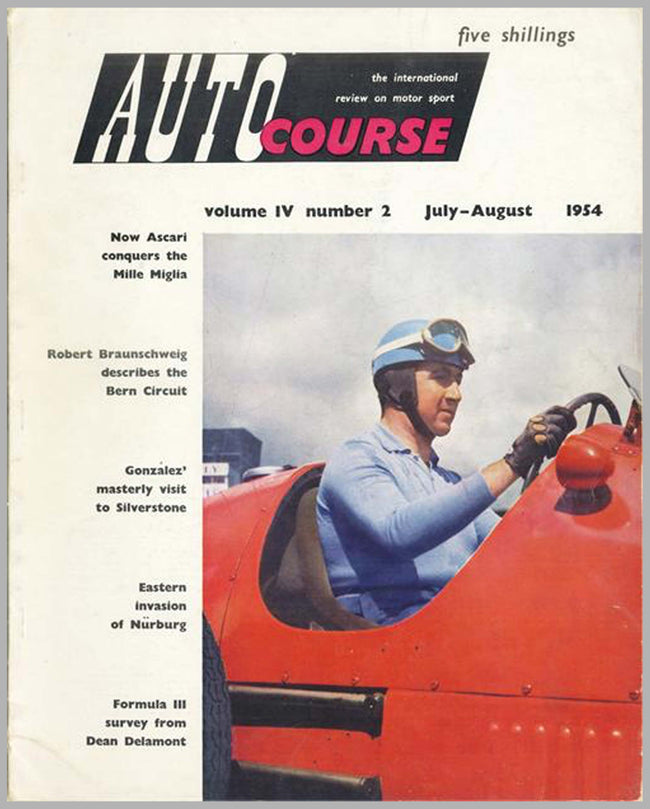 Autocourse magazine, volume 4, #2, July-August 1954