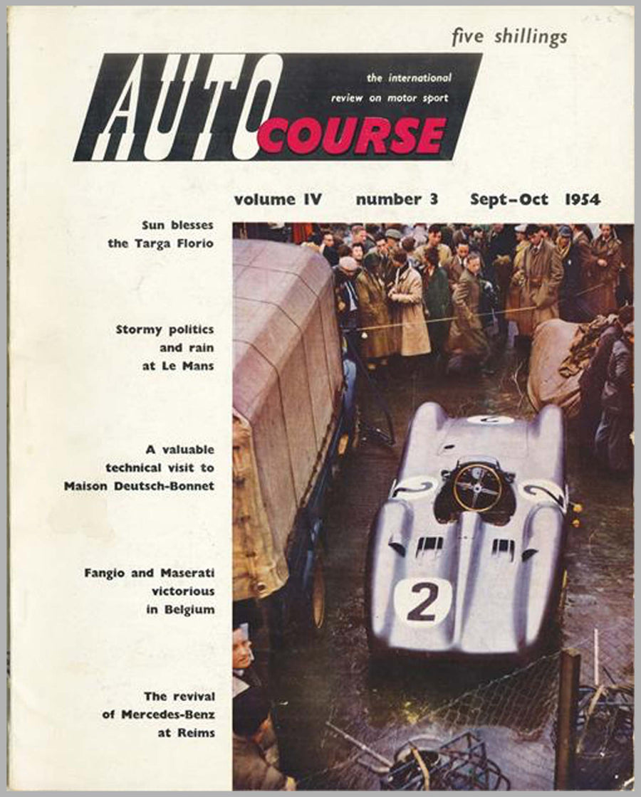 Autocourse magazine, volume 4, #3, Sept-Oct 1954