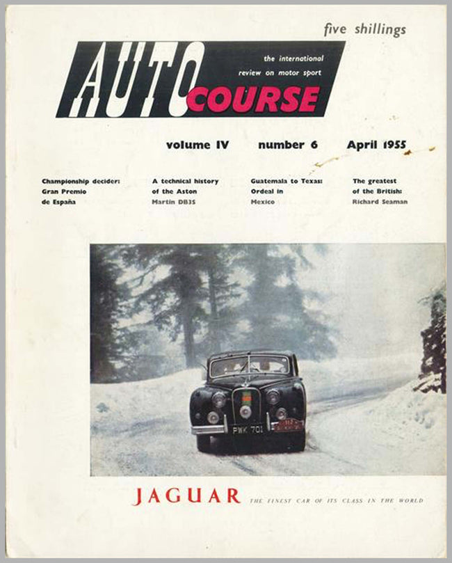 Autocourse magazine, volume 4, #6, April 1955