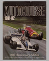 Autocourse 1981-82 book edited by M. Hamilton