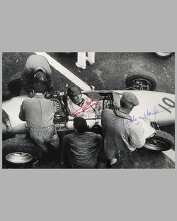 Autographed Dan Gurney photo