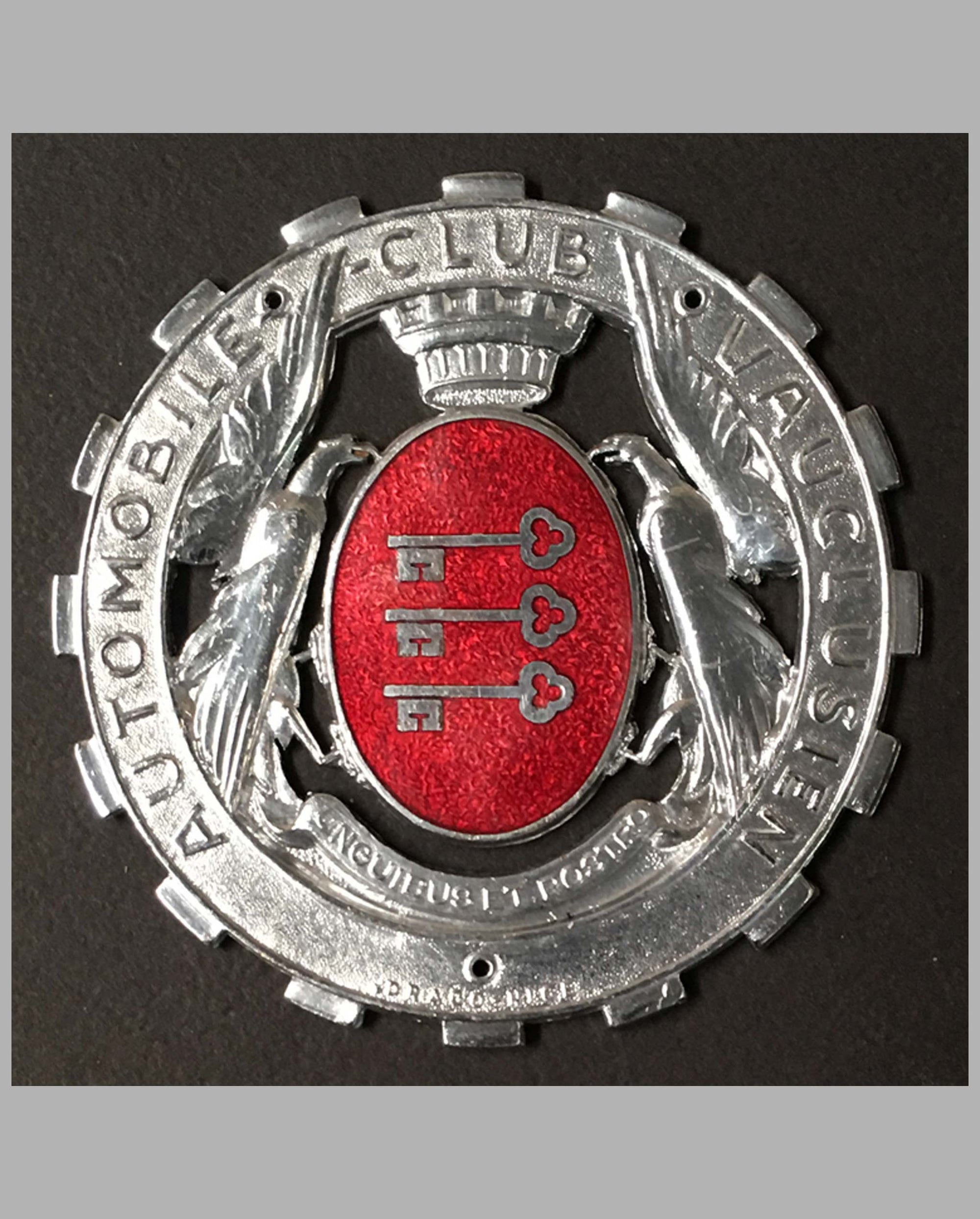 Automobile Club Vauclusien (South of France) grille badge