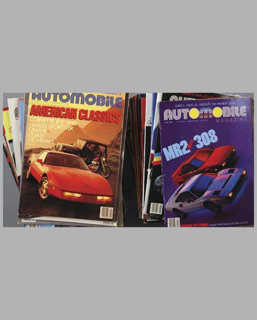 Automobile Magazine (56 issues)