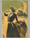 Automobiles & Cycles Rochet original poster by Philippe Chapellier circa 1900 3