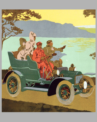 Automobiles Orel advertising poster, by Thor 2