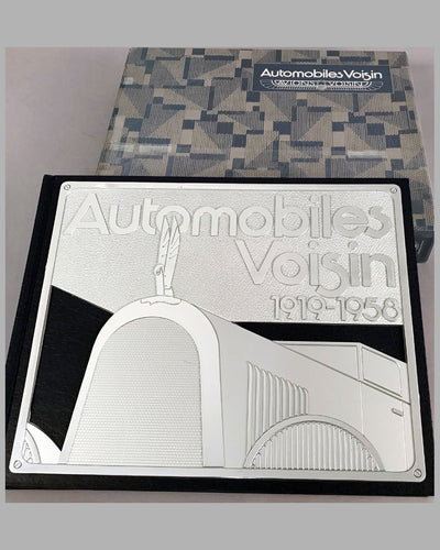 Automobiles Voisin 1919-1958 book by Pascal Courteault, 1991, first edition of 3500 2