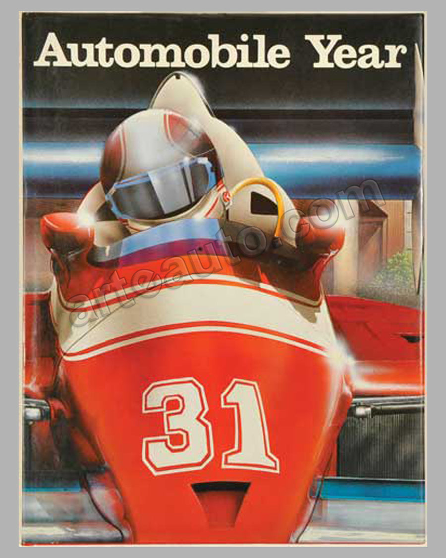 Automobile Year #31 1983-84 book by Edita Lausanne, 1984