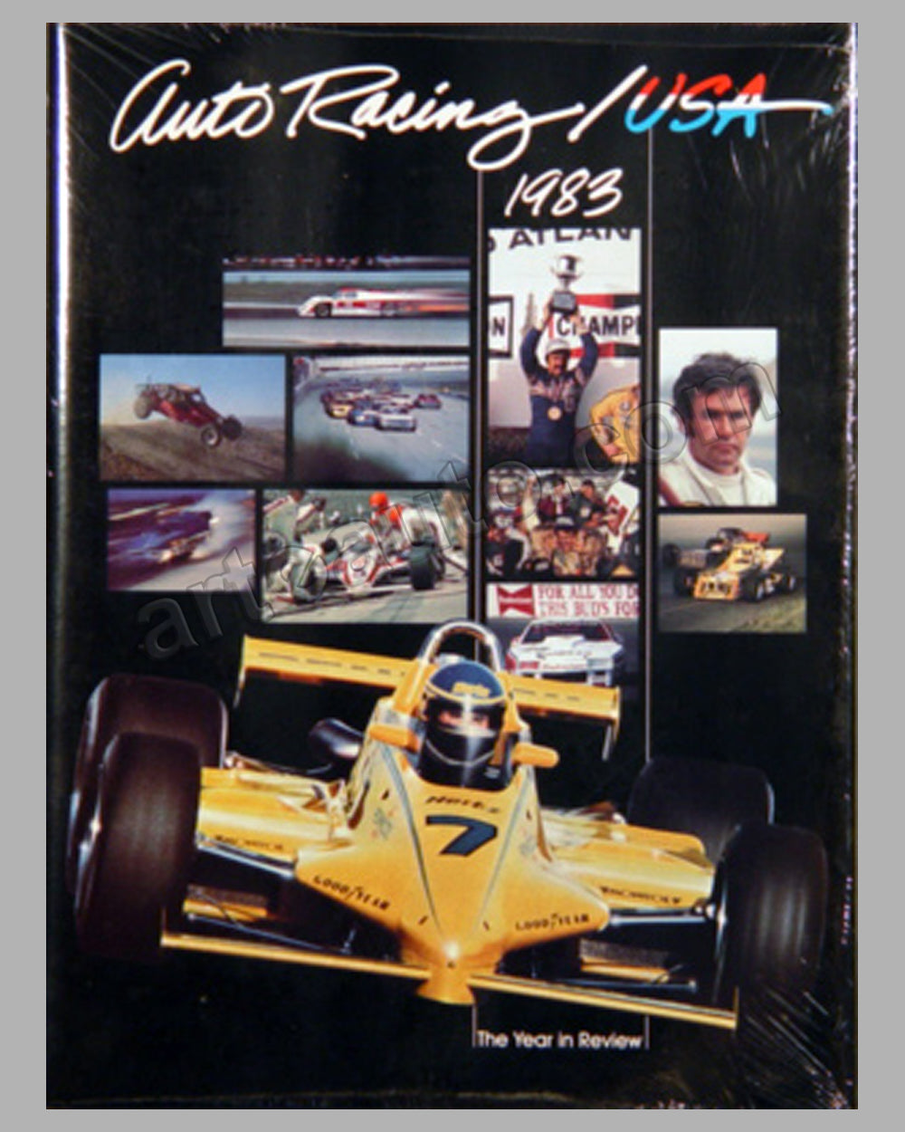 Auto Racing USA - 1983 year book by L. A. Taylor