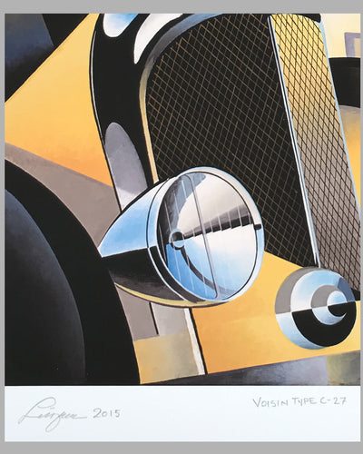 Avion Voisin Type C 27 giclée by Alain Lévesque