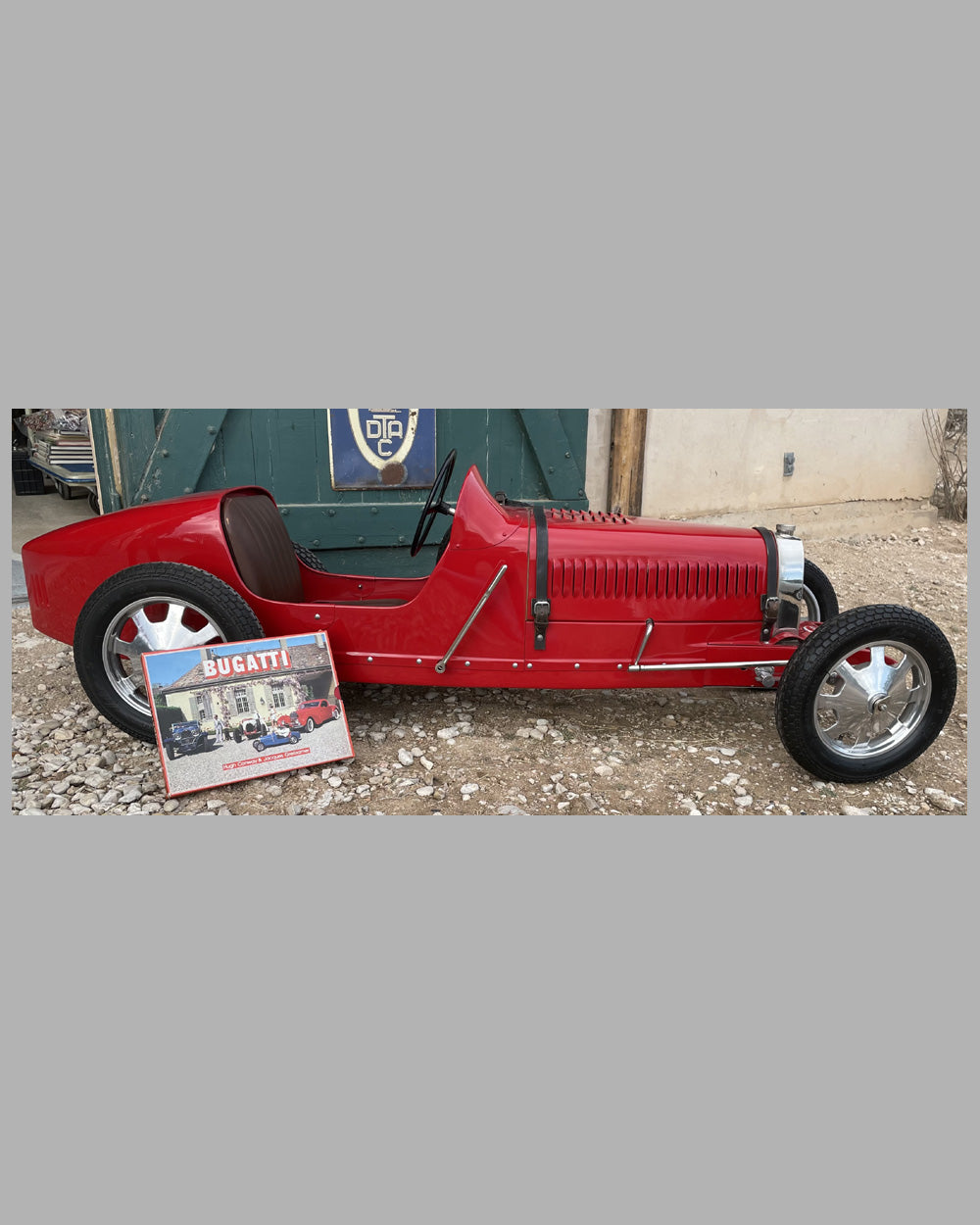 Baby Bugatti T52 child motorized car built in the U.K.