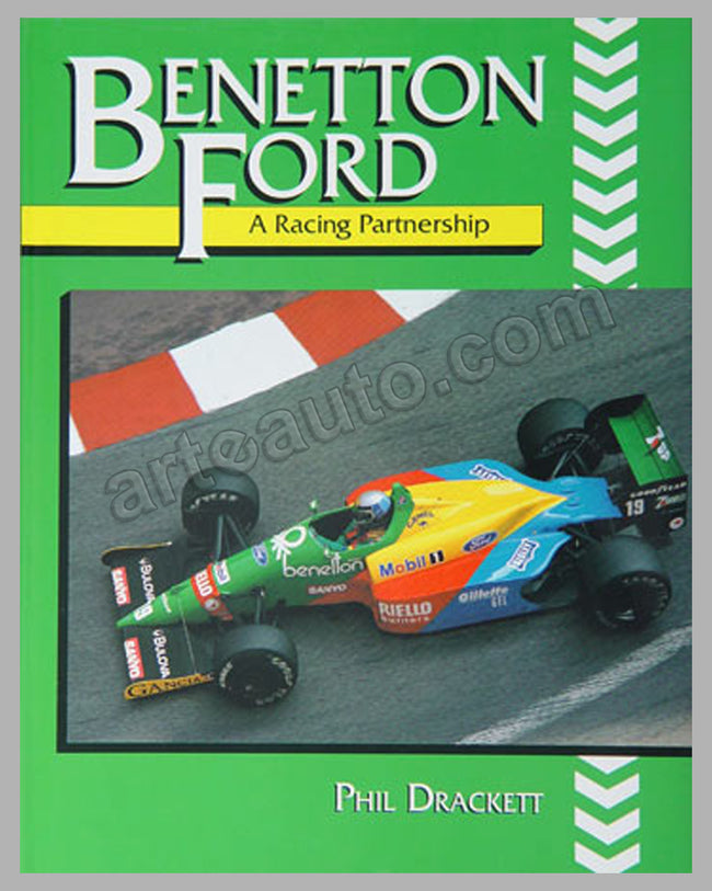 Benetton Ford-A Racing Partnership book