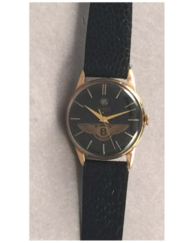 Bentley Wings wrist watch by Moeris, ca. 1960