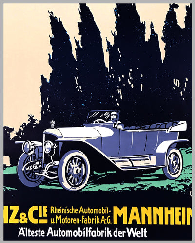 Benz Automobile poster factory reproduction poster 2