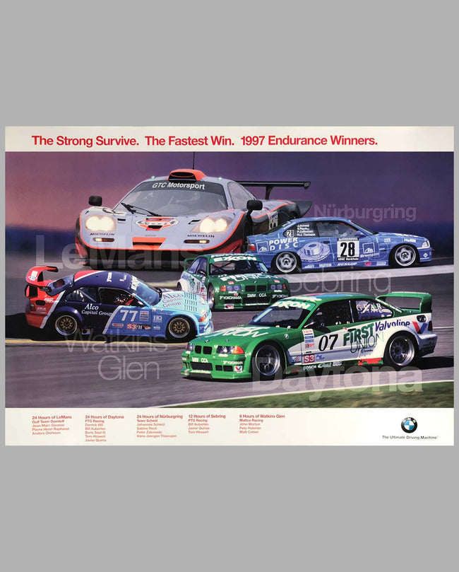 BMW Factory Poster 1997