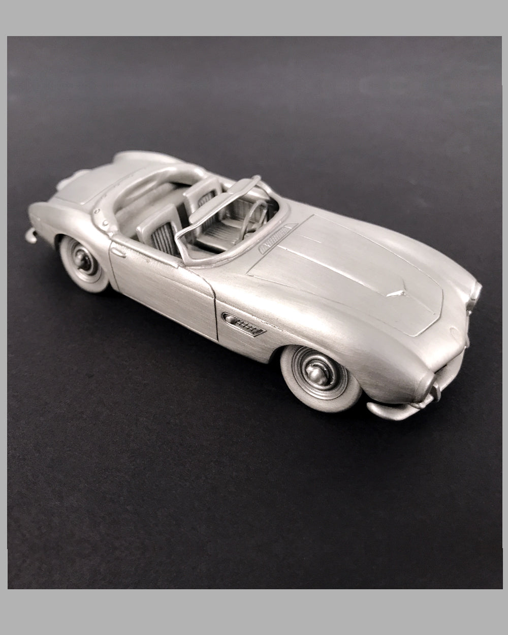 1957 BMW 507 pewter sculpture model