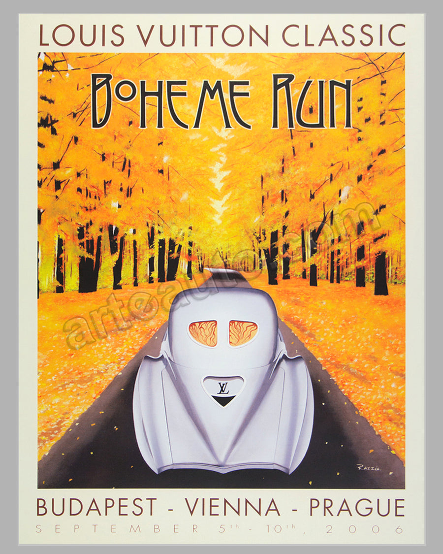 Louis Vuitton Classic 2006 Boheme Run (vertical) poster by Razzia