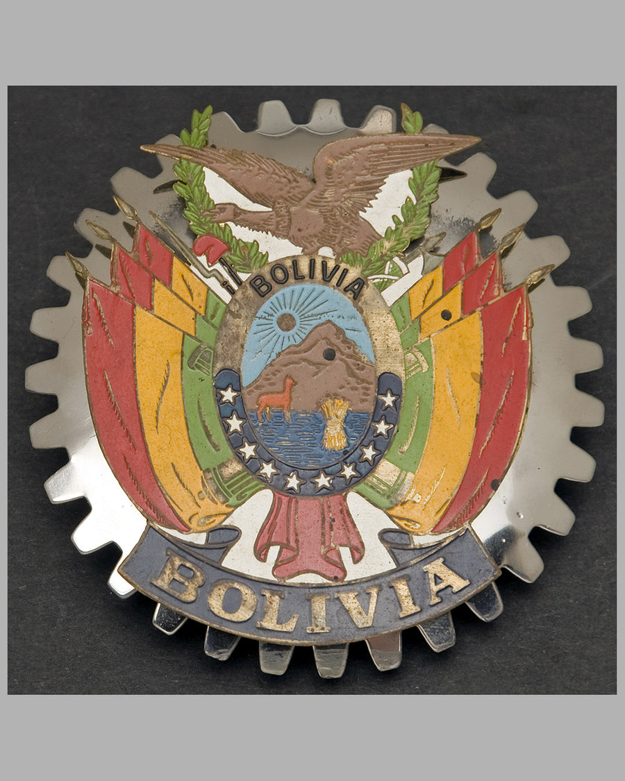 Bolivia souvenir badge