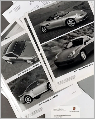 Porsche Boxter press release for the U.S. market on January 3rd 1997 4