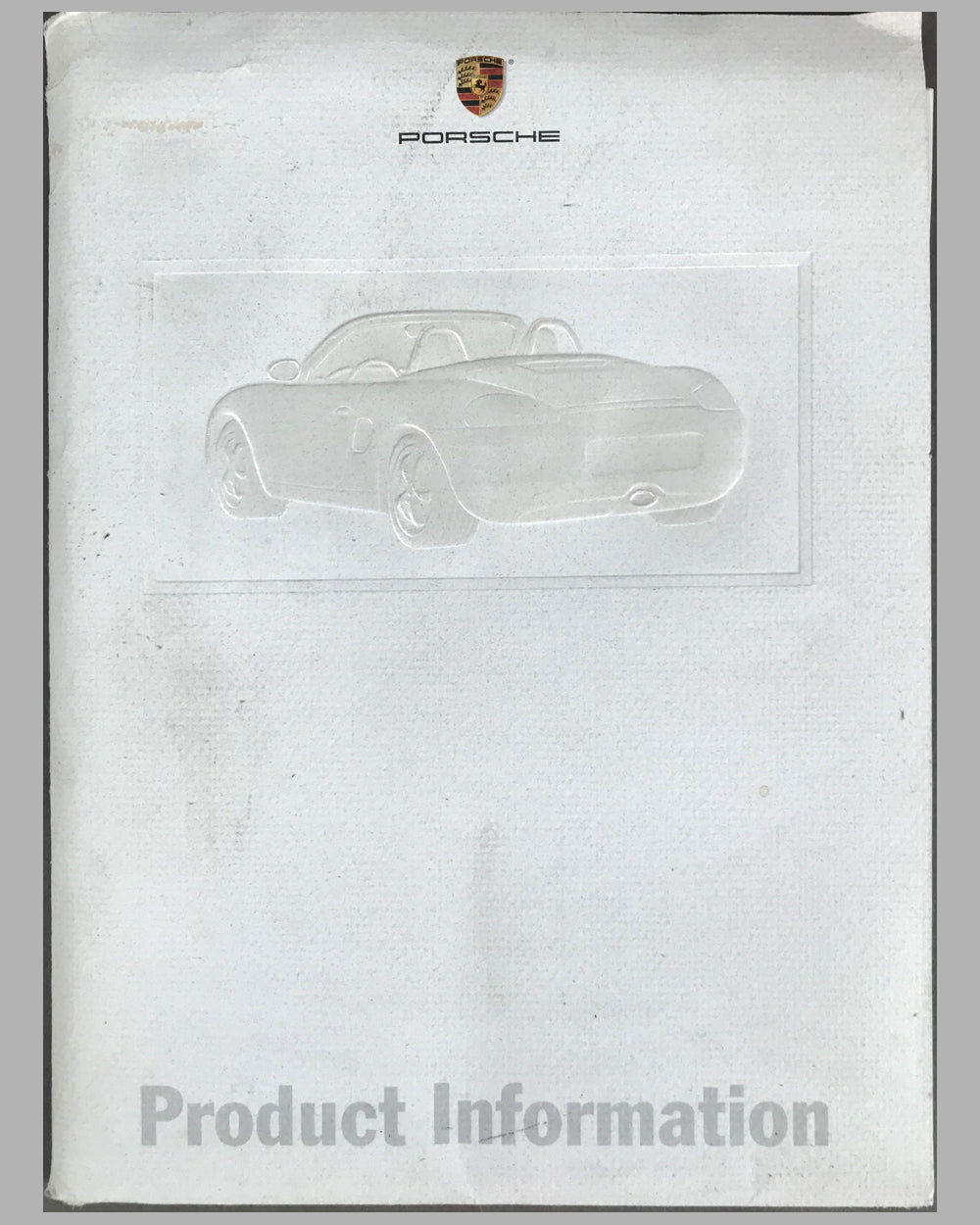 Porsche Boxster press release for the U.S. market on January 3rd 1997