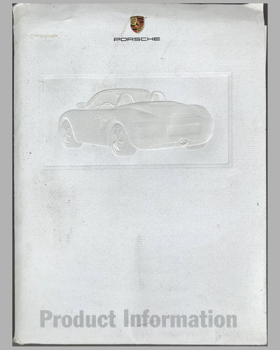 Porsche Boxter press release for the U.S. market on January 3rd 1997