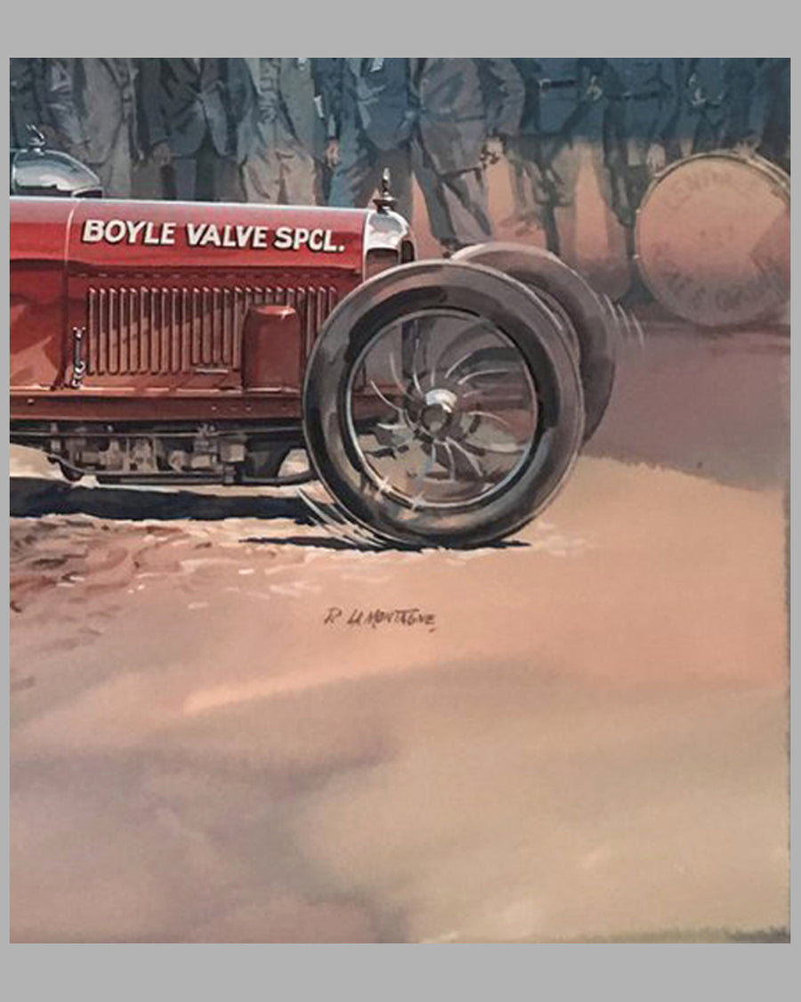 Boyle Valve Special painting by P. LaMontagne 3