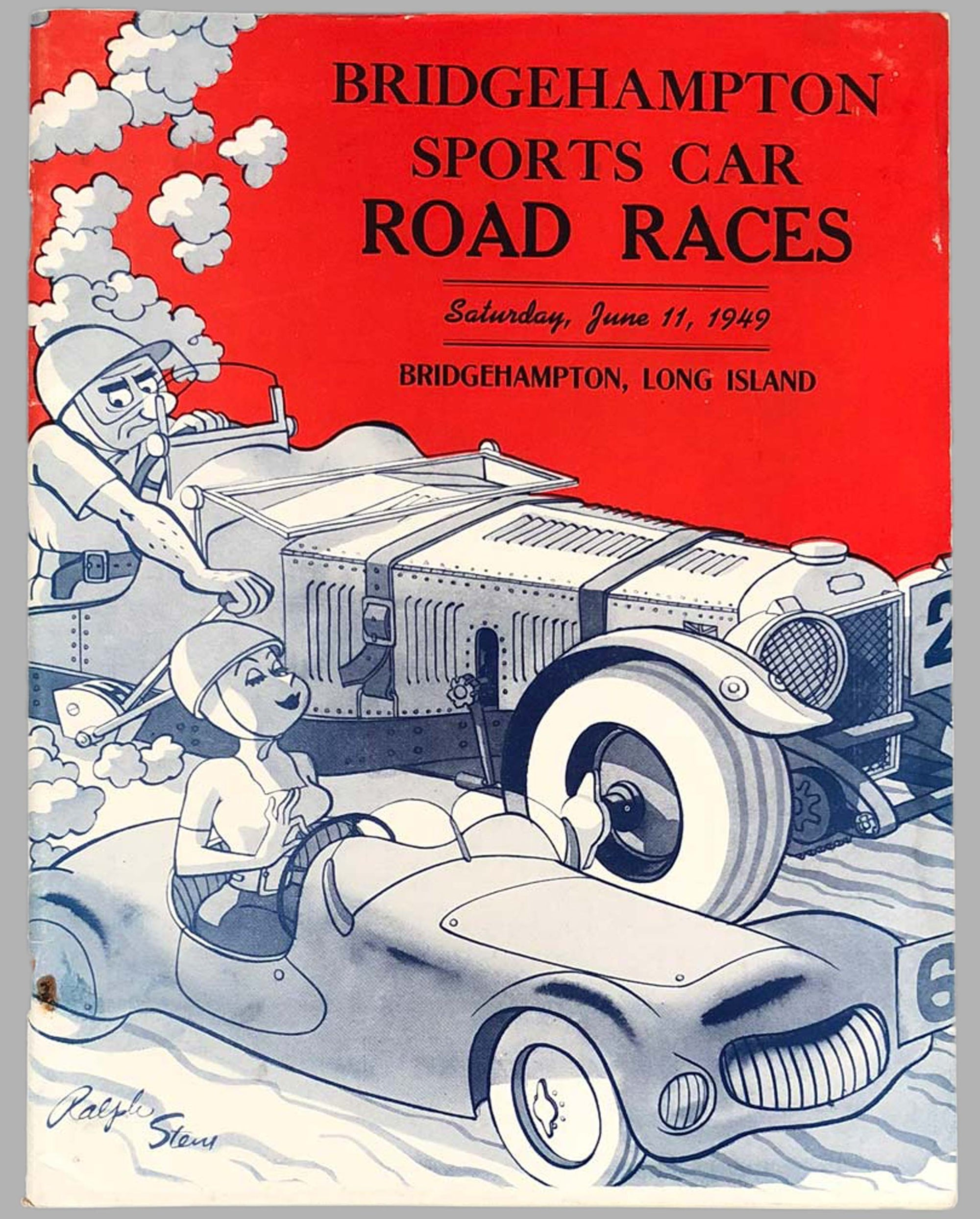 1949 Bridgehampton Sports Car Road Race  Program