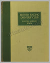 BRDC Silver Jubilee Book published by the club