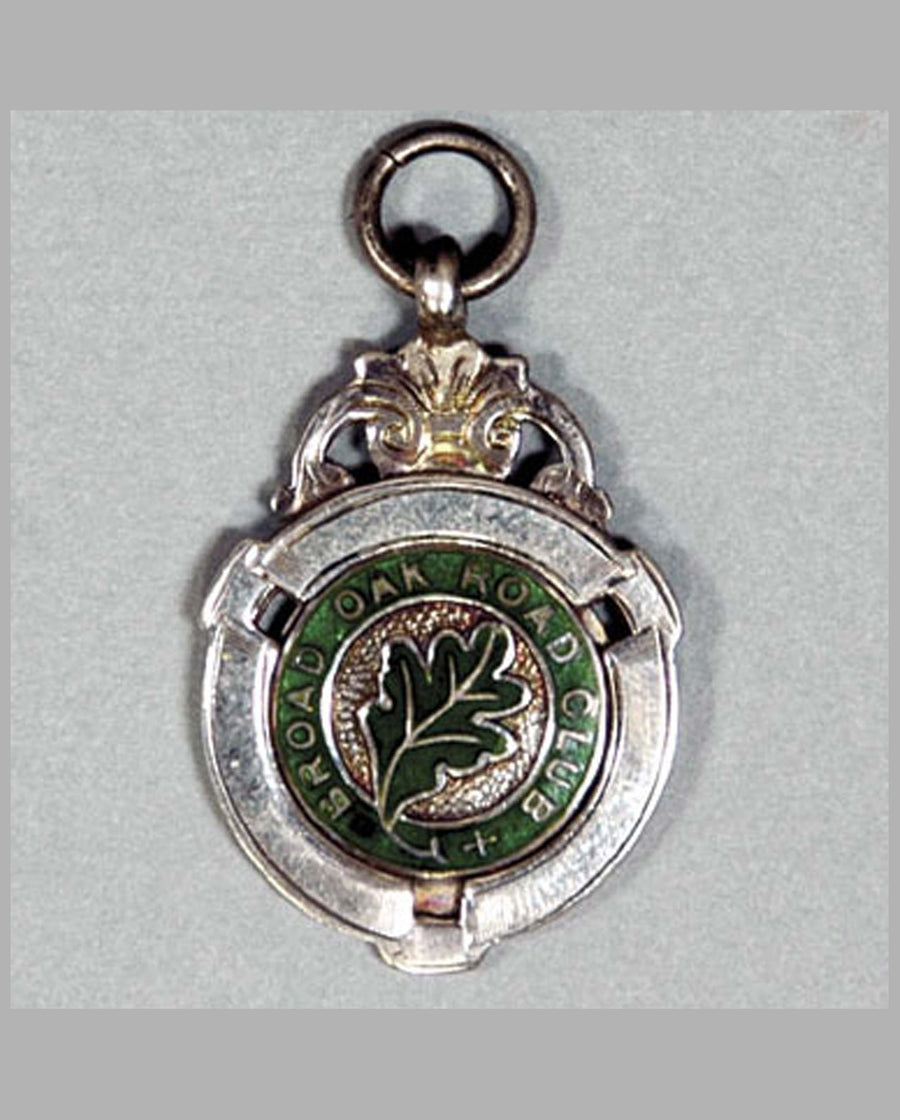 Broad Oak Road Club, membership pendant