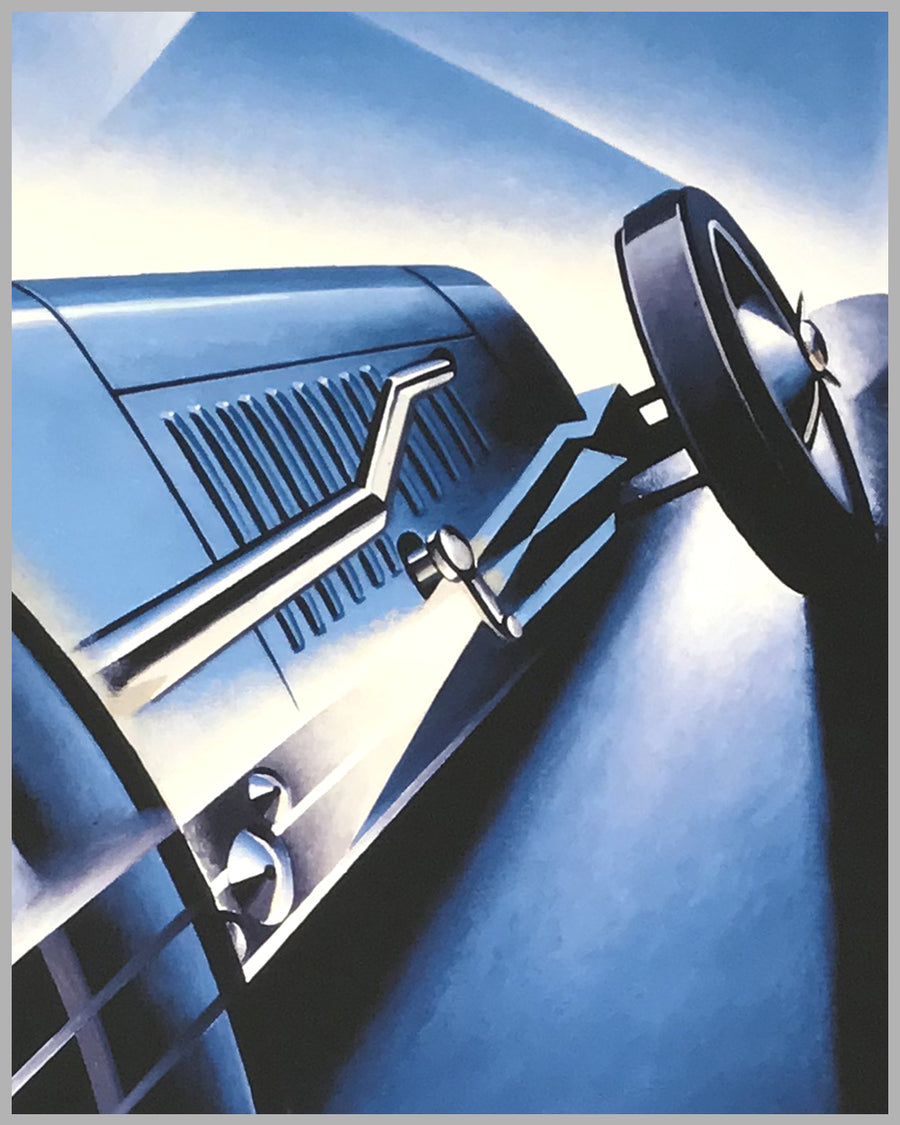 Brooklands 1927 giclée by Alain Lévesque