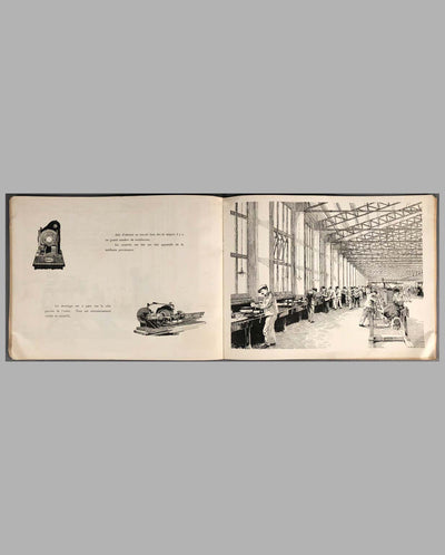 Ettore Bugatti Fabrique Automobiles Factory Book, 1922 inside