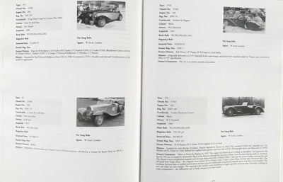 2000 British Bugatti Register and Data Book