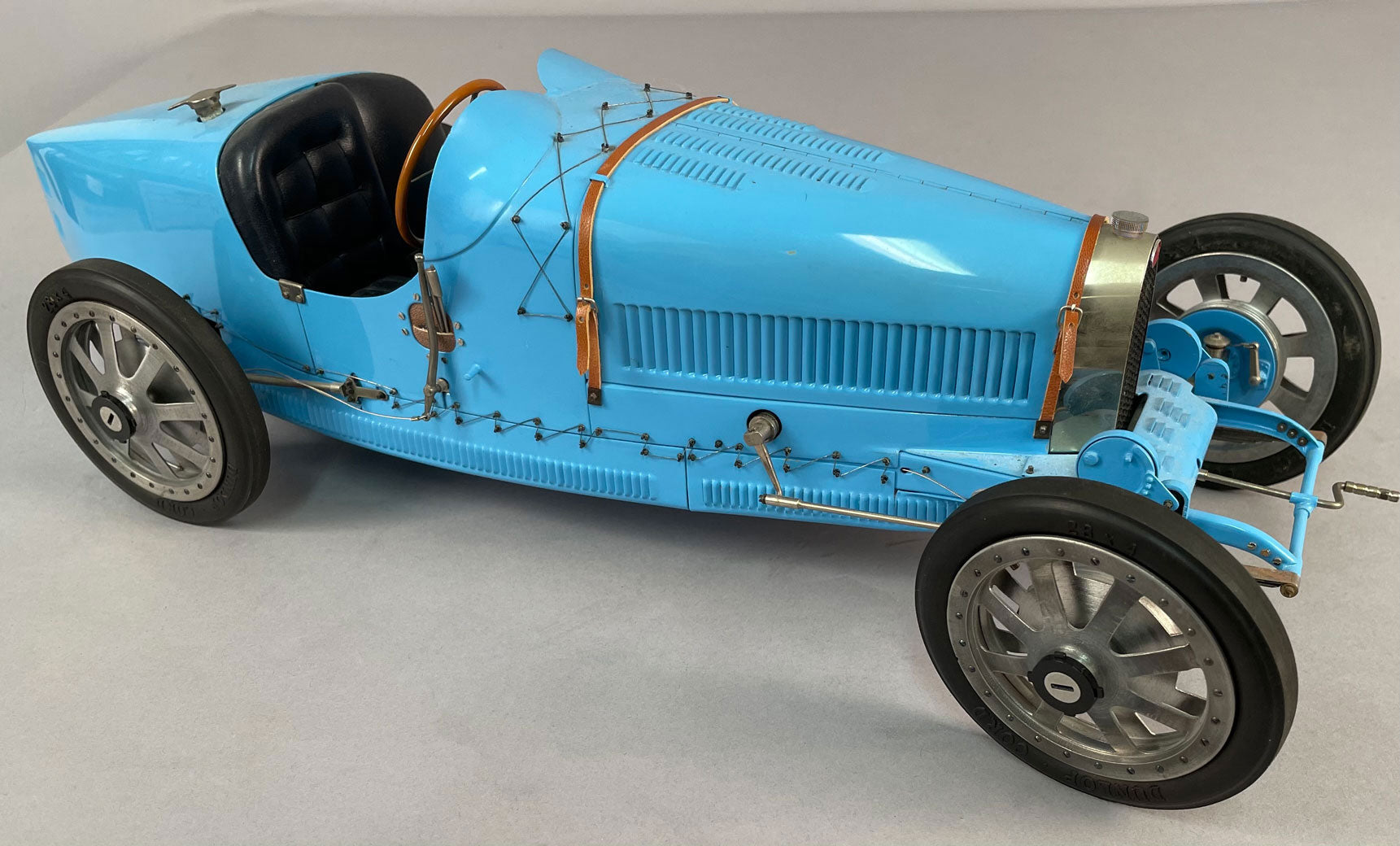 Bugatti T35 model by Art Collection/Fontenelle, 1/8 scale