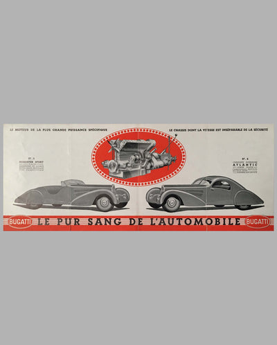 Bugatti Type 57, 57 S sales brochure inside 2